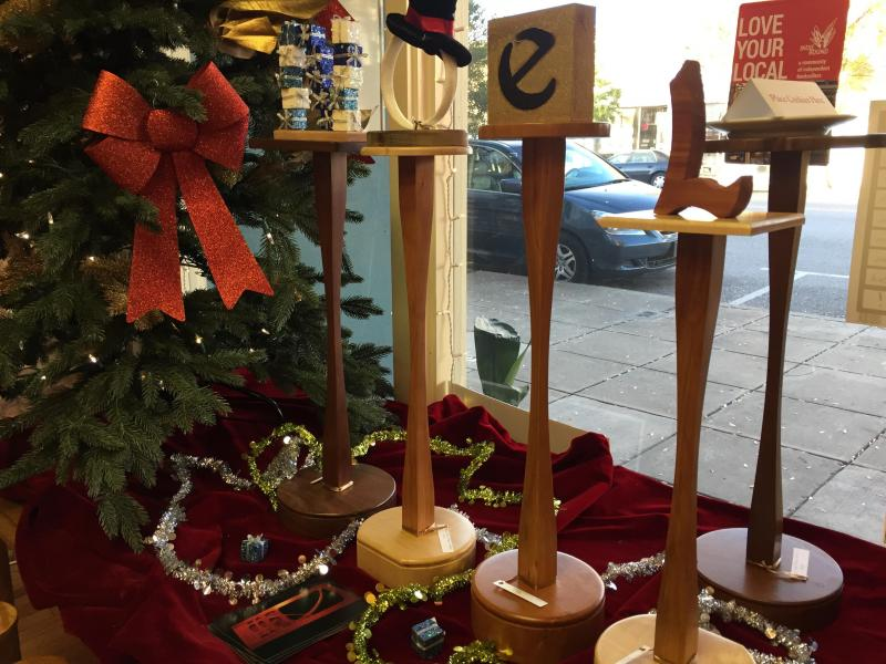 Tiny Tables In Black Walnut, Maple, And Cherry U2013 The Perfect Spot For Your  Coffee Or Tea!